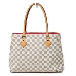 Auth Louis Vuitton Damier Azur Calvi Shoulder Bag